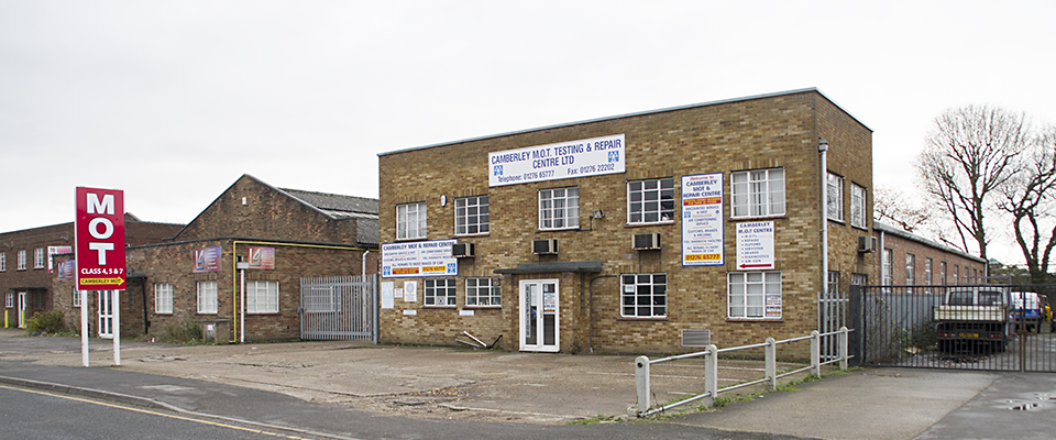 Camberley MOT and repair centre